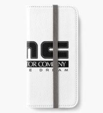 DeLorean Motor Company - Black Clean iPhone Wallet/Case/Skin