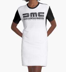 DeLorean Motor Company - Black Dirty Graphic T-Shirt Dress