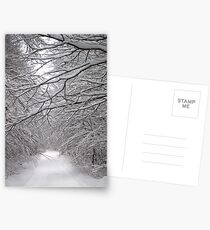 White and calm... Postcards