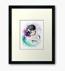 Yuzuru Hanyu - Seimei Framed Print