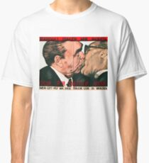 Fraternal Kiss Classic T-Shirt