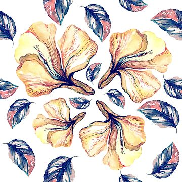 WATERCOLOR FLOWERS by lex-sky