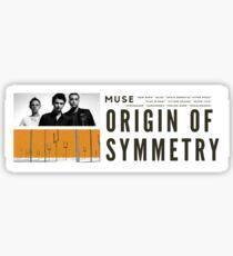 origin of symettry Sticker