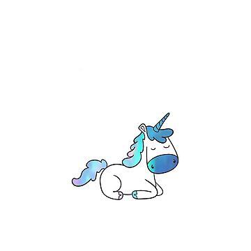 Cute Opal Unicorn by amandagolf59