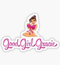 Good Girl Gracie Cartoon Logo Sticker