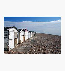 Beach Huts Photographic Print