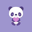 Cute purple baby pandas by petitspixels
