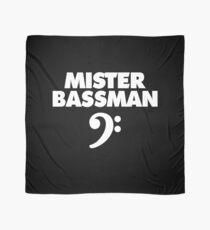 MISTER BASSMAN CLEF (white) Scarf