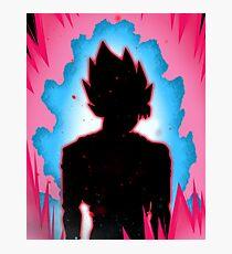 Goku SSB Kaioken Photographic Print