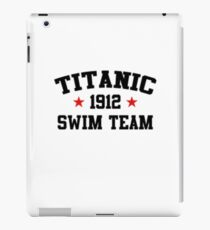 Titanic Funny Swim Team 1912  iPad Case/Skin