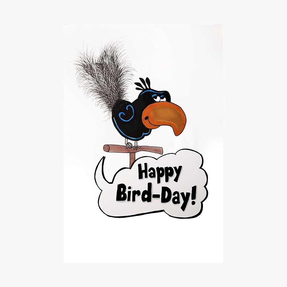 Happy Bird-Day Photographic Print