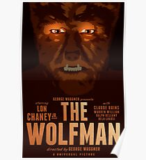 The Wolfman 1941 alternative movie poster Poster