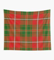 Hay Plaid Wall Tapestry