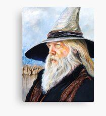 JR the Wizard Bard Canvas Print