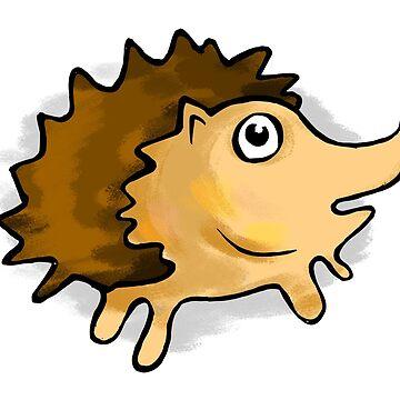 Hedgehog cartoon by rafo