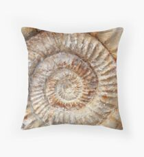 Ammonite Throw Pillow