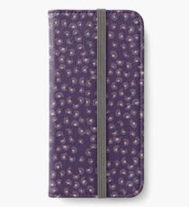 Purple Animal Print iPhone Wallet/Case/Skin