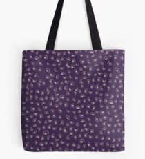 Purple Animal Print Tote Bag
