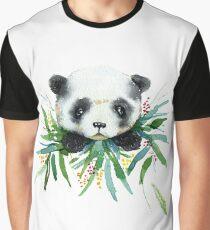 Little watercolor panda in bamboo Graphic T-Shirt