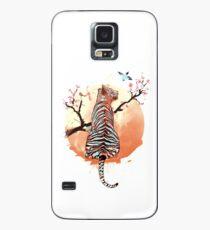 Tiger at the sakura's tree Case/Skin for Samsung Galaxy