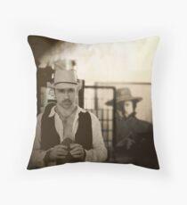 Josey Wales - Self Portrait Throw Pillow