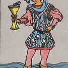 Tarot Card - Page of Cups by kaliyuga