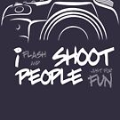 Shoot People for Fun Cartoonist Version (v2) - inverted by HoremWeb