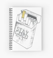 STAY GOLD CIGARETTES Spiral Notebook
