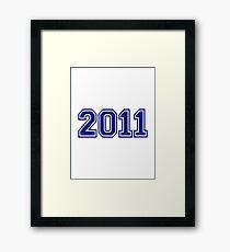 2011 Framed Print