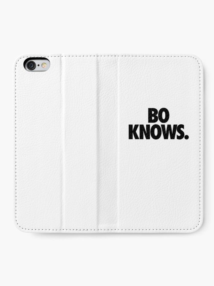 Alternate view of Bo Knows iPhone Wallet