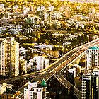 Granville Street Bridge Vancouver British Columbia by Amyn Nasser