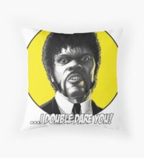 Jules quotes - Pulp Fiction Throw Pillow