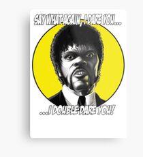 Jules quotes - Pulp Fiction Metal Print
