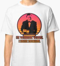 Winston Wolf - Pulp Fiction Classic T-Shirt