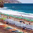 Parasol Mania - Cinque Terre - Italy by Yannik Hay