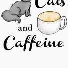Cats and Caffeine by julieerindesign