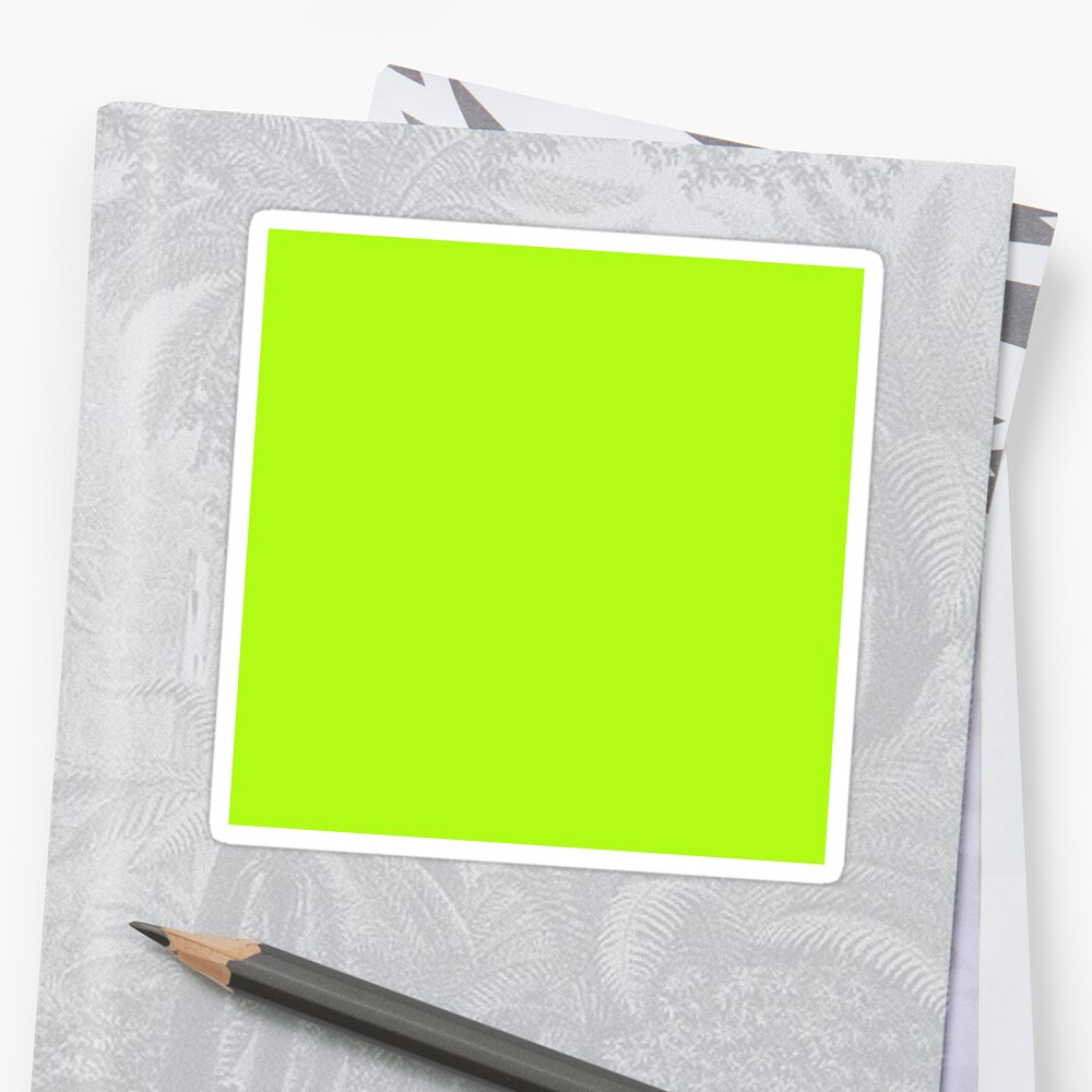 Cheapest Solid Bright Green Yellow Neon Color\