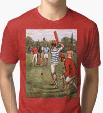 CRICKET Pop Art Tri-blend T-Shirt