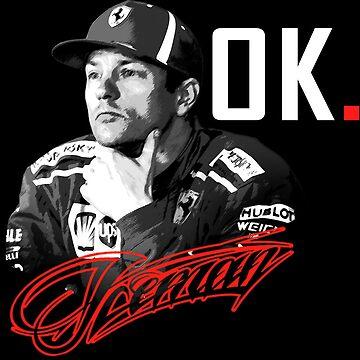 Kimi Raikkonen - Ok. by evenstarsaima