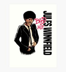 Jules, Bad M.F. - Pulp Fiction Art Print