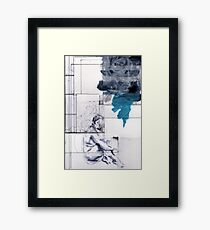 Recycle Drawing # 5 Framed Print