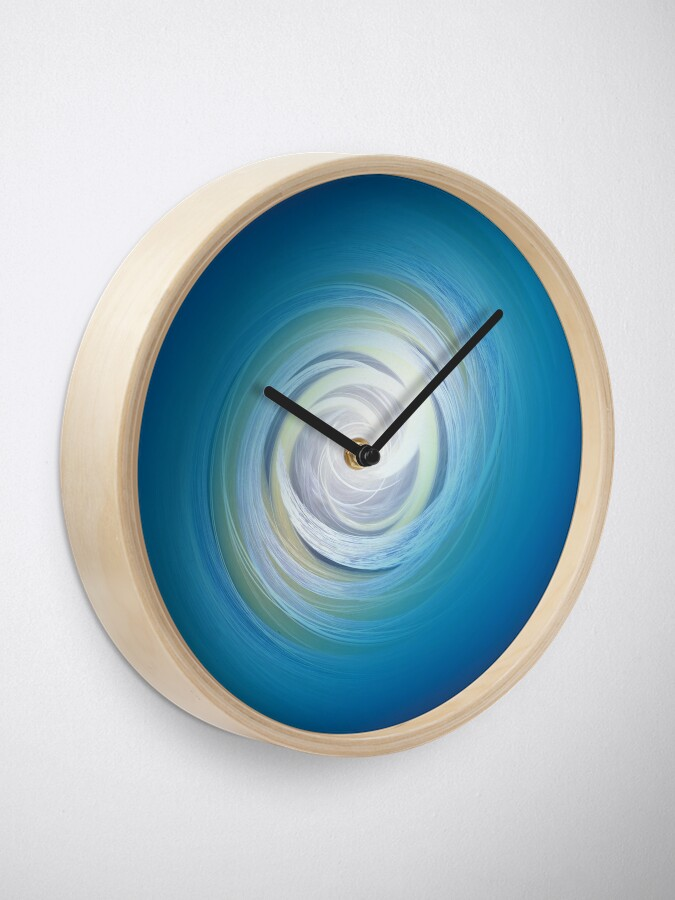 Alternate view of Circles and Revolutions Abstract Clock