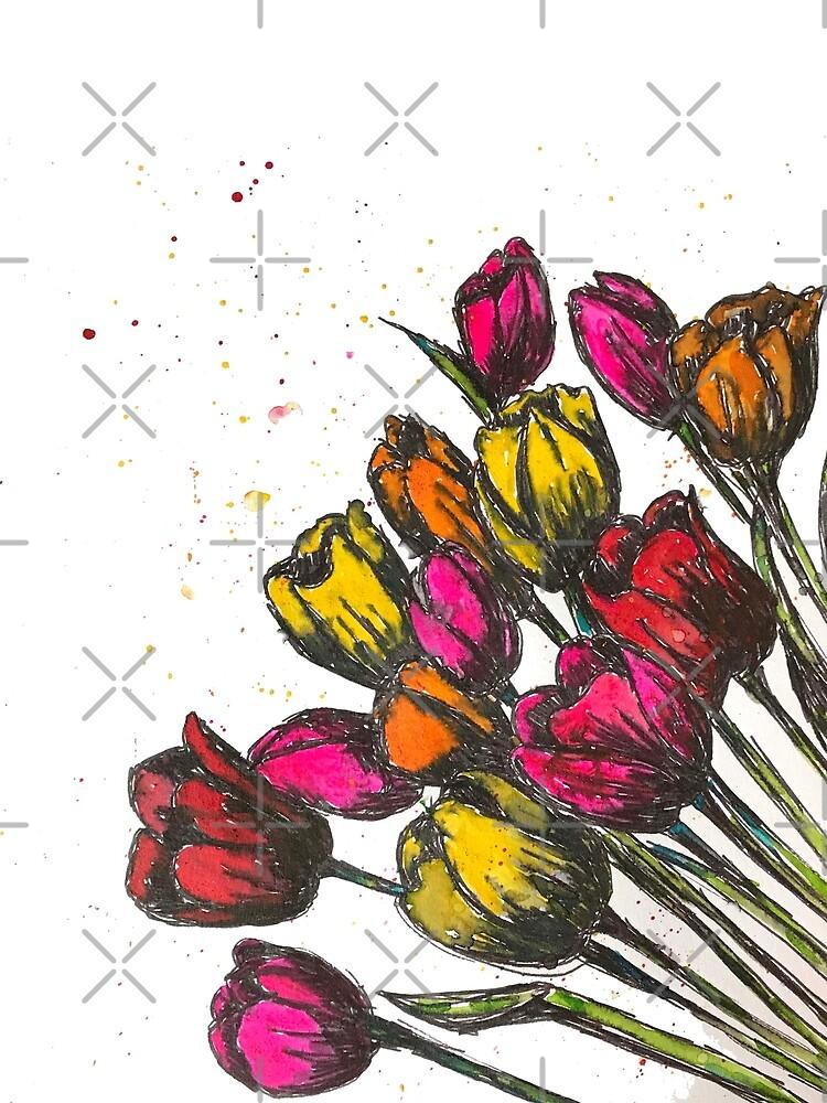Spring Fling Tulips by jstunkard