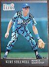 013 - Kurt Stillwell by Foob's Baseball Cards