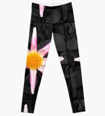 Star Flower Art Leggings