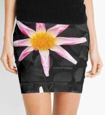 Star Flower Art Mini Skirt