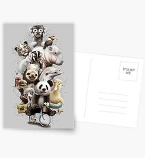 ZOO ESCAPE Postkarten