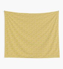 yellow leafs Wall Tapestry