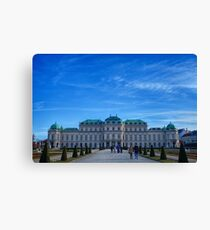 The Belvedere Palace - Vienna Canvas Print