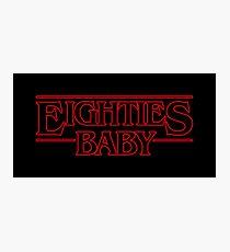 Eighties Baby Photographic Print